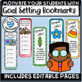Monthly Book Challenge Editable Bookmark Template