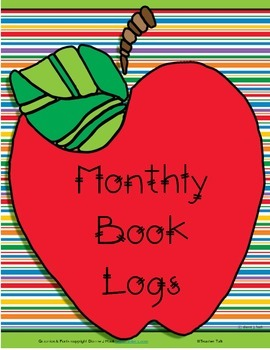 Monthly Book Log