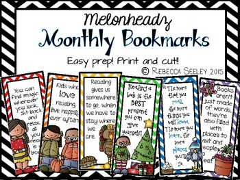 Monthly Bookmarks