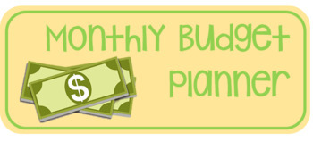 monthly budget planner by simply stem teachers pay teachers