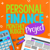 Personal Finance, Budgeting, and Planning Monthly Project