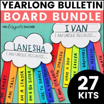 Monthly Bulletin Board Kit BUNDLE