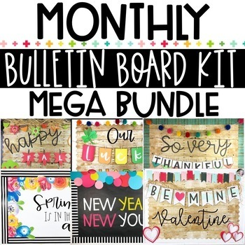 Bulletin Board Kit MEGA BUNDLE #1