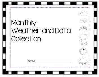 Monthly Calandar and Weather Data