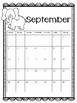 Monthly Calendar August-May 2017-2018 (Animal Theme)