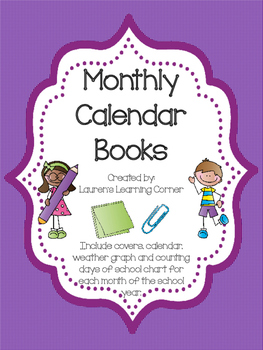Monthly Calendar Books
