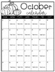 Monthly Calendar Template (Editable)