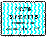 Calendar Headings