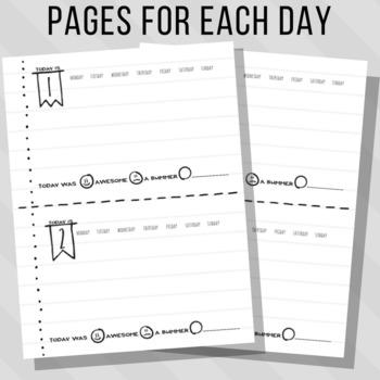 Monthly Calendar Kit: Planner for Kids