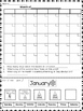 Monthly Calendar Labeling Set