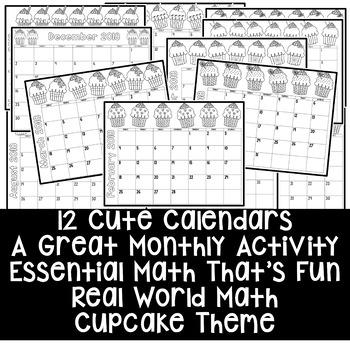Calendar Math. 2017, Updated for Life!