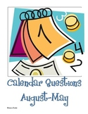 Monthly Calendar Math Questions