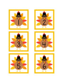 Monthly Calendar Numbers (76 Sets) - BUNDLE