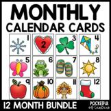 Calendar Numbers - Bundle