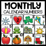 Calendar Numbers - Bundle