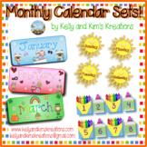 Monthly Calendar Sets