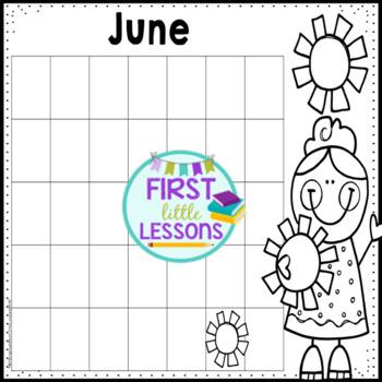 Monthly Calendar Templates