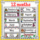 Monthly Calendar Toppers