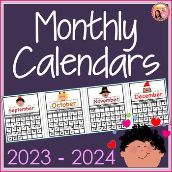 December 2020 Calendar Header 2019 2020 Calendars with Themed Headers   by Nyla's Crafty