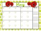 Monthly Calendars - Any Year - Watercolor - Holiday-Themed
