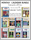 Monthly Calendars Bundle and Much More!