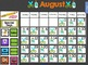 Monthly Calendars for Smartboard - Entire Year BUNDLED