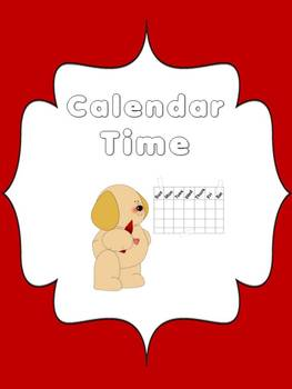 Monthly Calendars with Task Cards Math Station or Center or Calendar Time