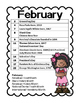Monthly Celebration Calendars