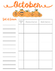 Monthly Center Planner