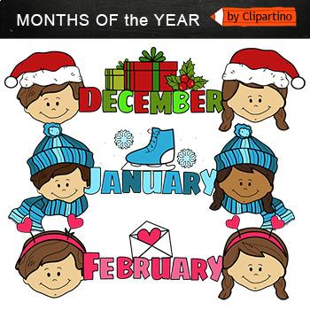 Monthly Clip Art-top
