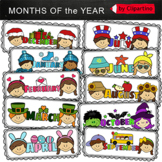 Monthly Clip Art-top frame