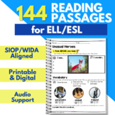 Monthly Close Reading Activities | ESL Vocabulary | ESL In