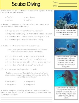 May Close Reading Passages & Comprehension Questions