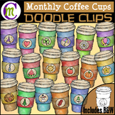 Monthly Coffee Clipart