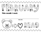 Monthly Coloring Pages - Book Reading Certificates
