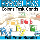 Monthly Colors Errorless Task Boxes
