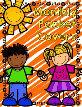 Monthly Covers for Morning work, early finisher or any