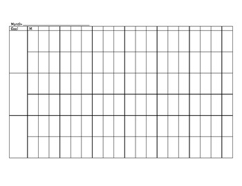 Monthly Data Reporting Sheet