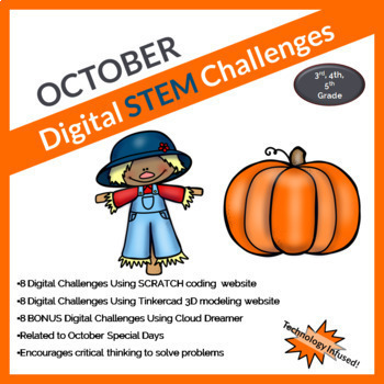 Monthly Digital STEM Challenges HOLIDAYS Growing Bundle