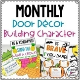 Monthly Classroom Themes Decor Bundle Bulletin Board for C