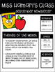 Monthly EDITABLE Newsletters