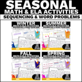 Sequencing Stories with Pictures Activity   Addition & Sub