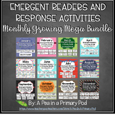 Monthly Emergent Readers and Response Activities Growing Bundle
