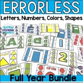 Monthly Errorless Task Card Bundle