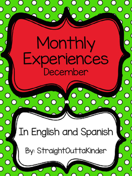 Monthly Family Experiences in English and Spanish- December
