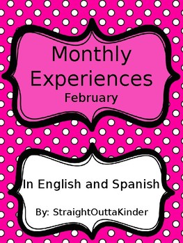 Monthly Family Experiences in English and Spanish- February