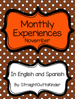 Monthly Family Experiences in English and Spanish- November
