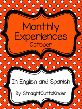 Monthly Family Experiences in English and Spanish- October