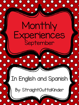 Monthly Family Experiences in English and Spanish- September