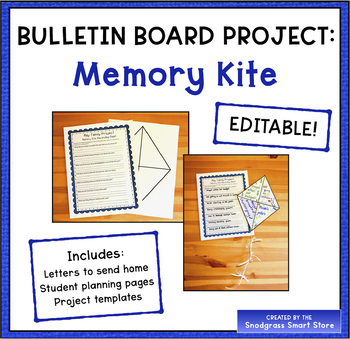 Bulletin Board Project: Memory Kite